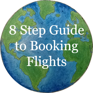 8 step guide to booking flights