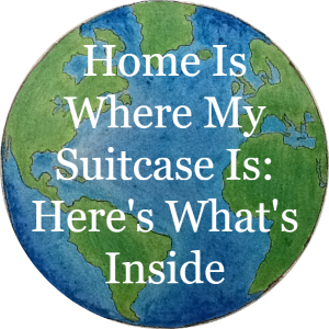 Home is where my suitcase is: here's what's inside, article