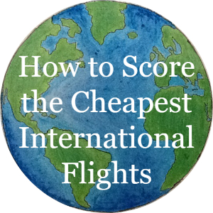 How to score the cheapest international flights, article