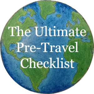 The ultimate pre-travel checklist, article