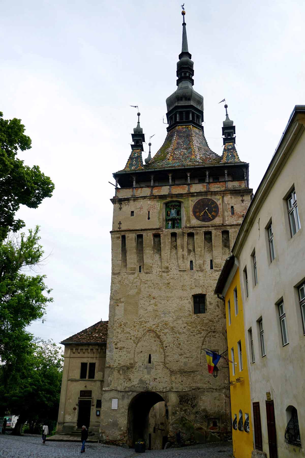 Council Tower of Sighisoara, Transylvania.